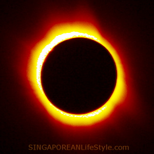 Solar Eclipse - Singaporean LifeStyle