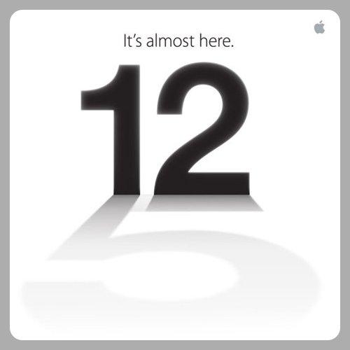 Apple 12 September 2012 Special Event