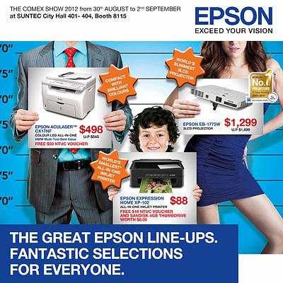 EPSON COMEX 2012 Price List