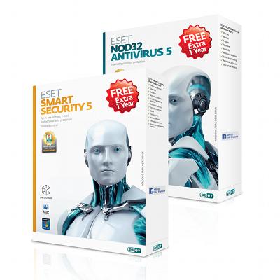 ESET NOD32 Antivirus 5 And Smart Security 5