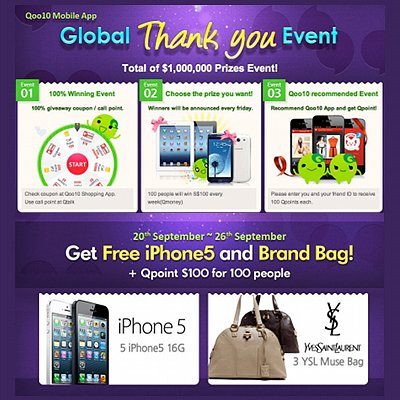 Qoo10 Singapore Global Thank You Event