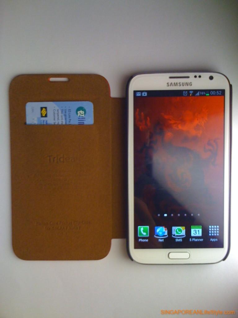 Tridea Note II LTE Case - Interior