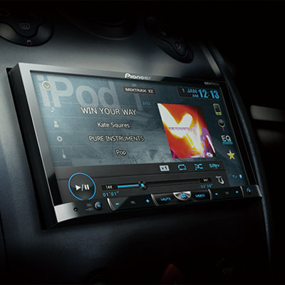 PIONEER AVH-X8550BT in car - 400x400