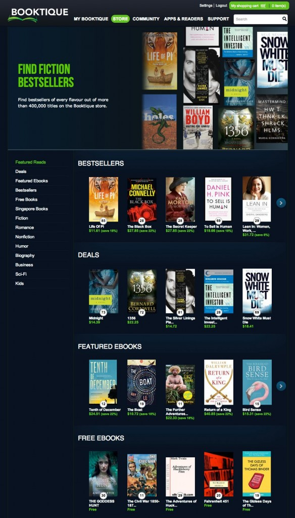 StarHub Booktique Overview