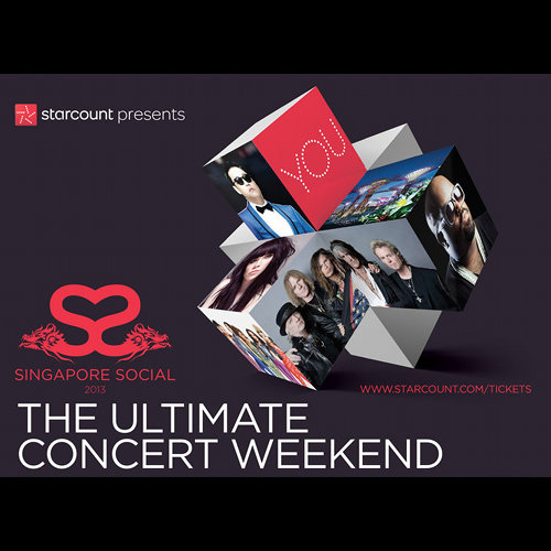 The Ultimate Concert Weekend in Singapore 500x500