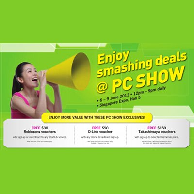 PC Show 2013 - StarHub 400x400