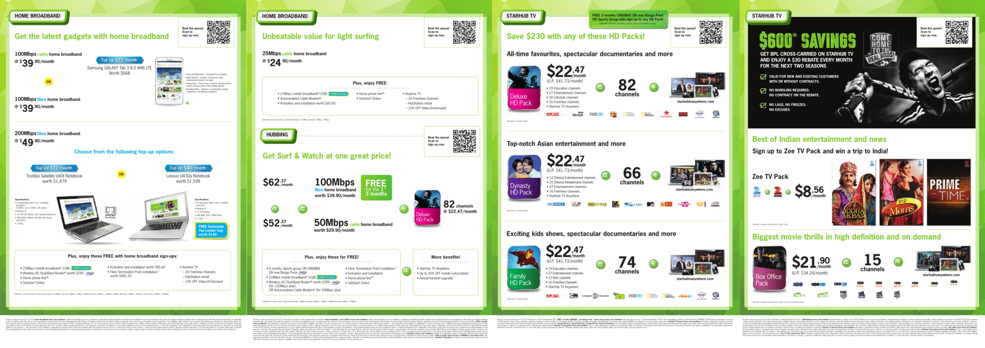 COMEX 2013 - StarHub Promotions Price List - Page2