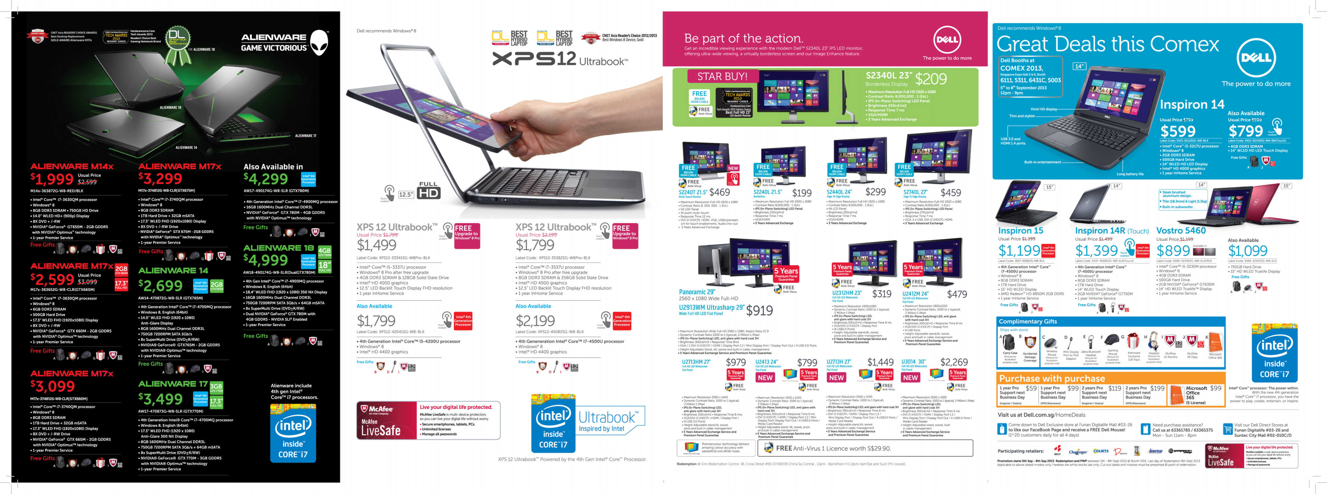 Comex 2013 Flyers - DELL - Page1