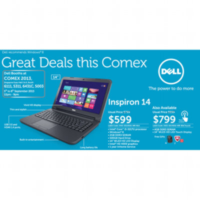 Comex 2013 Flyers - DELL - Promotions