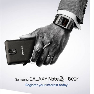 Pre-Registeration for Samsung GALAXY Note 3 and GALAXY GEAR