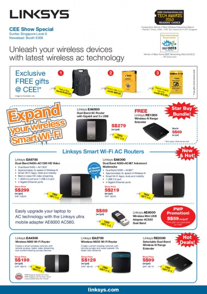 Linksys CEE 2013 Flyer Page1