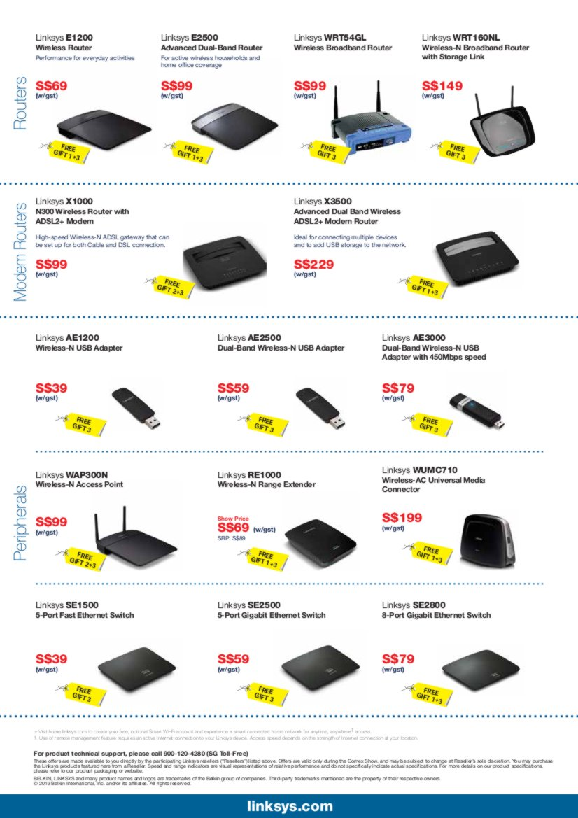 Linksys CEE 2013 Flyer Page2