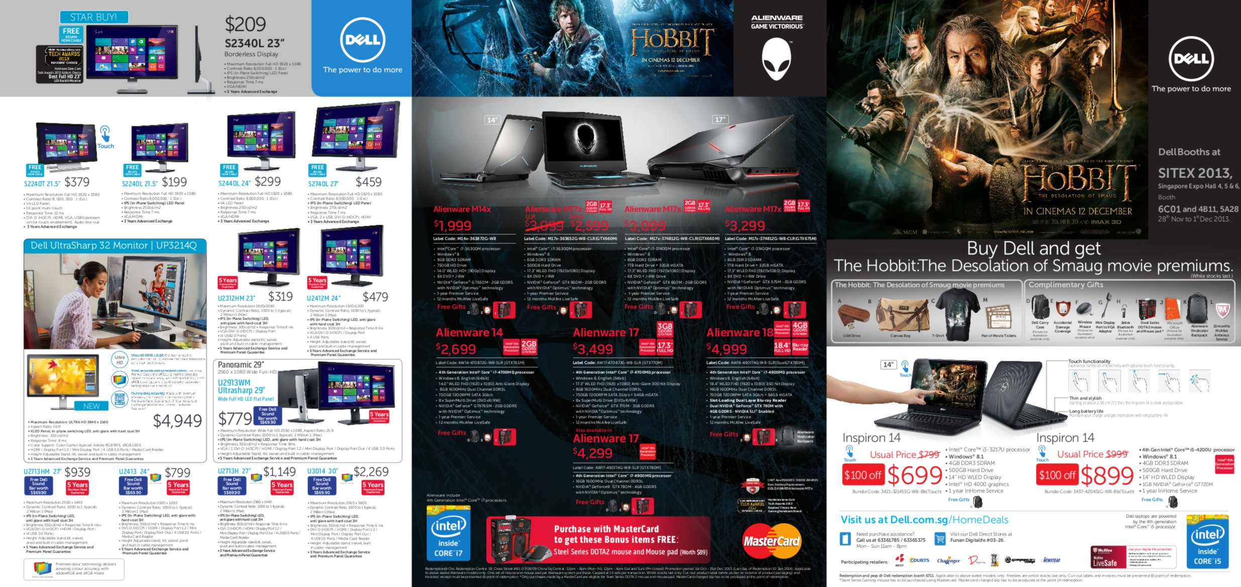 SITEX 2013 - DELL Flyers - Page 1
