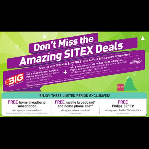 SITEX 2013 - StarHub Promotions