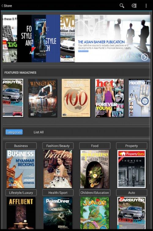 StarHub Booktique Magazines - Mobile App