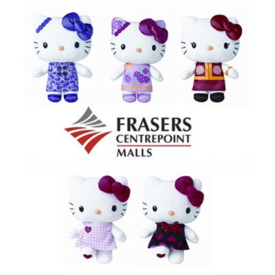 Frasers Centrepoint Malls CNY 2014 Hello Kitty Plushies