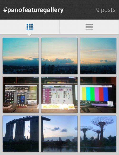 My instagram panofeaturegallery