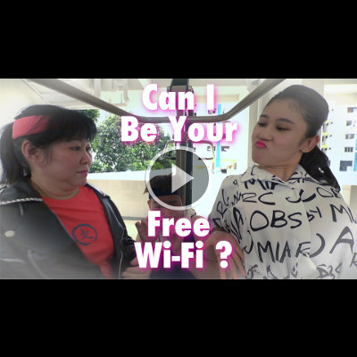 Can I Be Your Free Wi-Fi MV