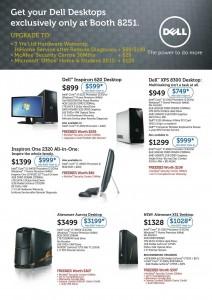 DELL IT SHOW 2012 Desktop Promotions