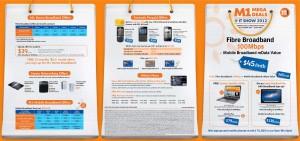 M1 IT SHOW 2012 Brochure Page 1