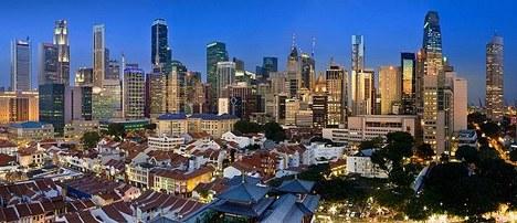 Singapore Panorama View