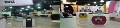 Check Out Dell Direct Stores in Singapore Suntec City / Funan