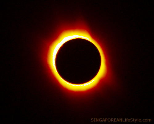 Ring of Fire Annular Solar Eclipse