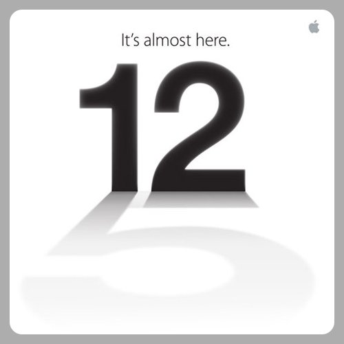 Apple 12 September 2012 Special Event