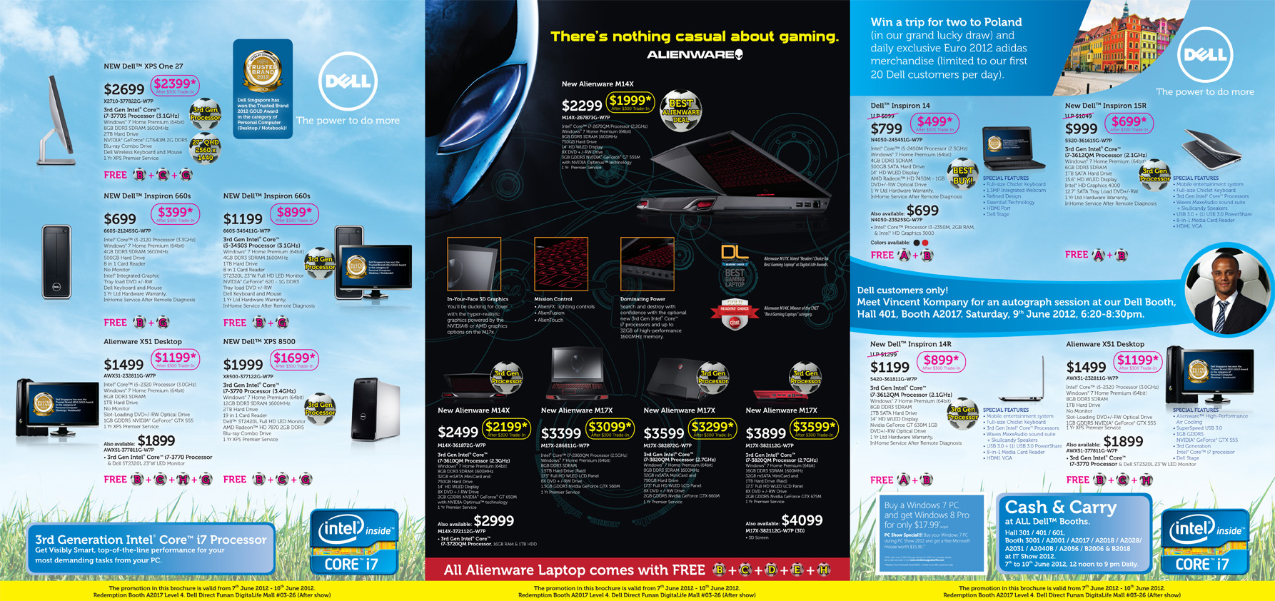 DELL PC SHOW 2012 Flyer