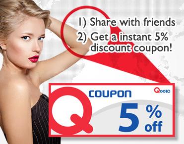 Qoo10 Singapore 5% Discount