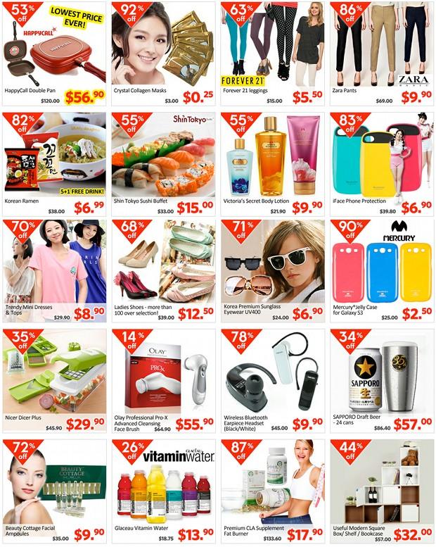 Qoo10 Great Singapore Sales