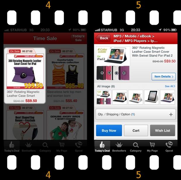 Qoo10 Singapore Time_Sale iPad2 Smart Cover Sale
