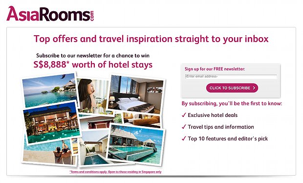 AsiaRooms Dream Holiday Campaign