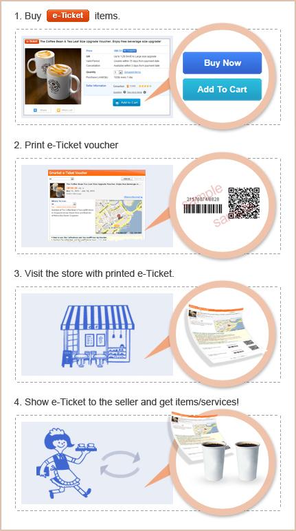 Qoo10 Singapore How To Use E-Tickets