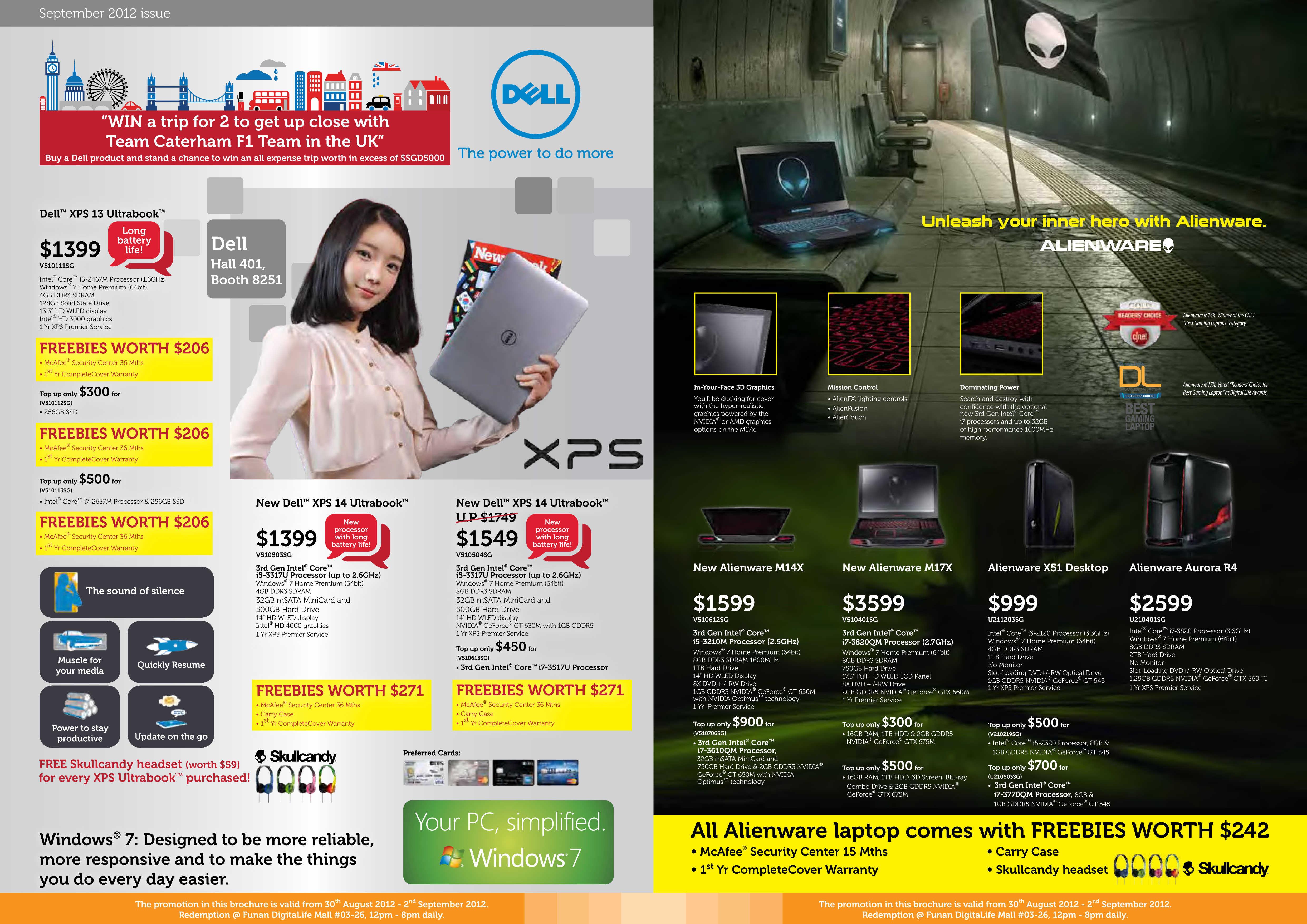Dell Main booth COMEX 2012 Pricelist 2