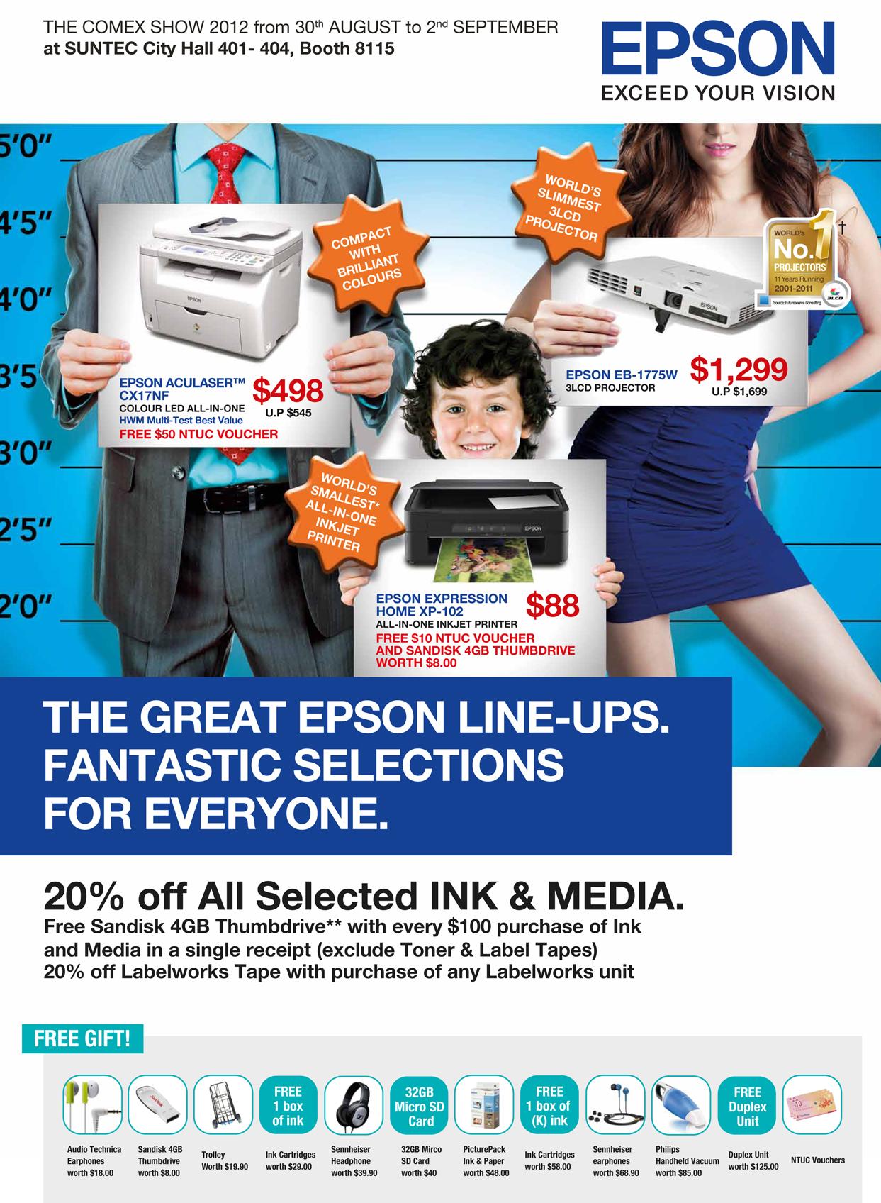 EPSON COMEX 2012 Price List 1