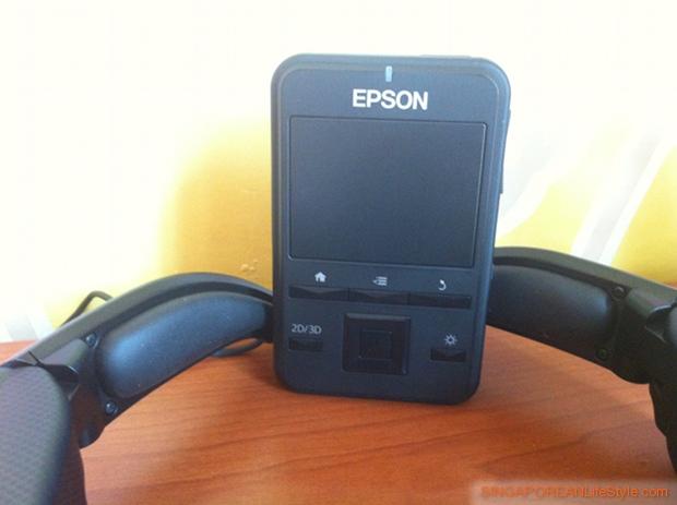 EPSON Moverio BT-100 Controller