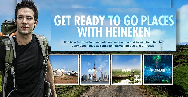 Go Places With Heineken