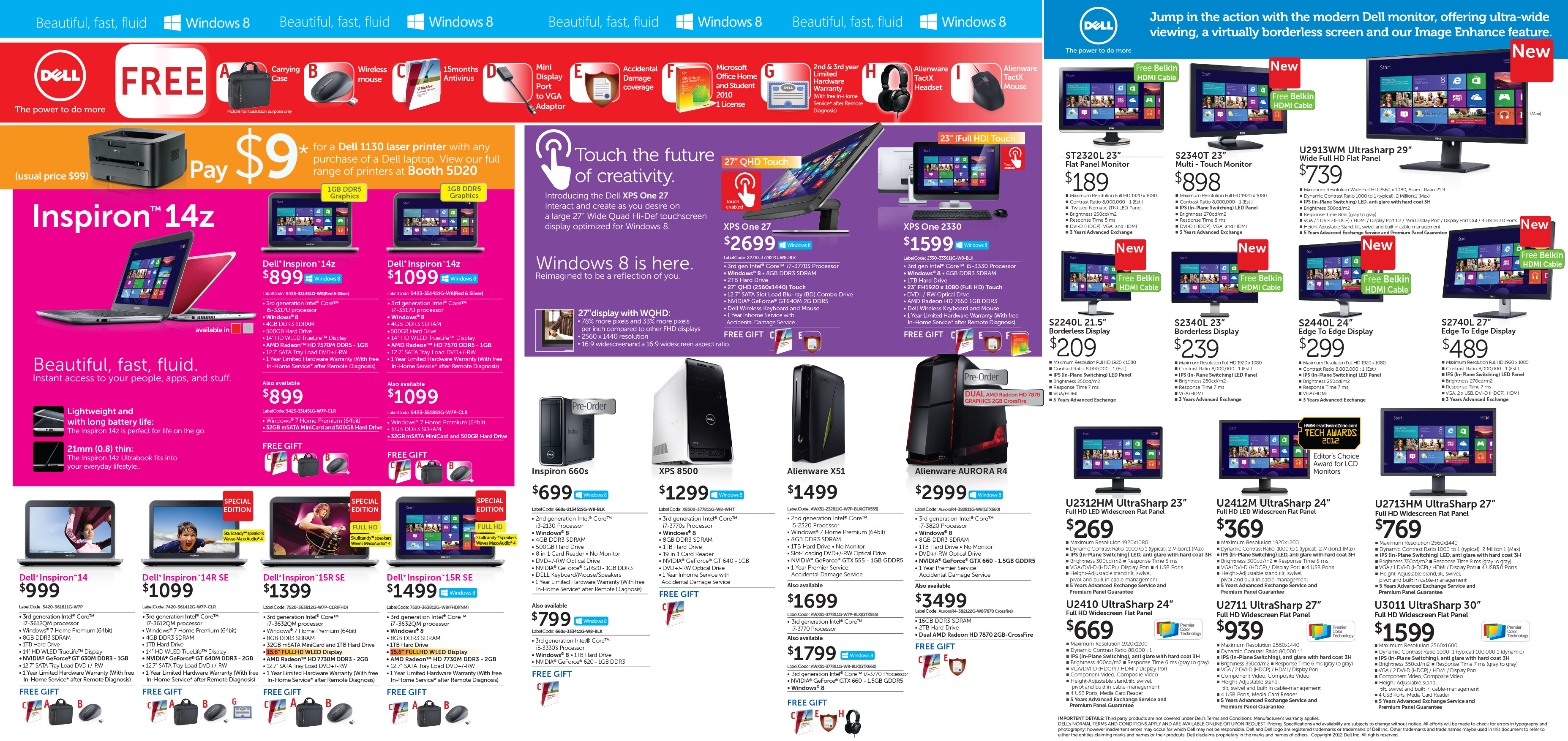 SITEX 2012 - DELL FLYER 1