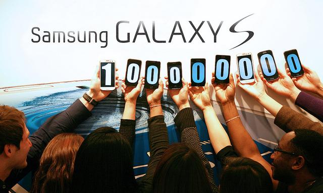 Samsung Galaxy S Hits 100 million unit sold
