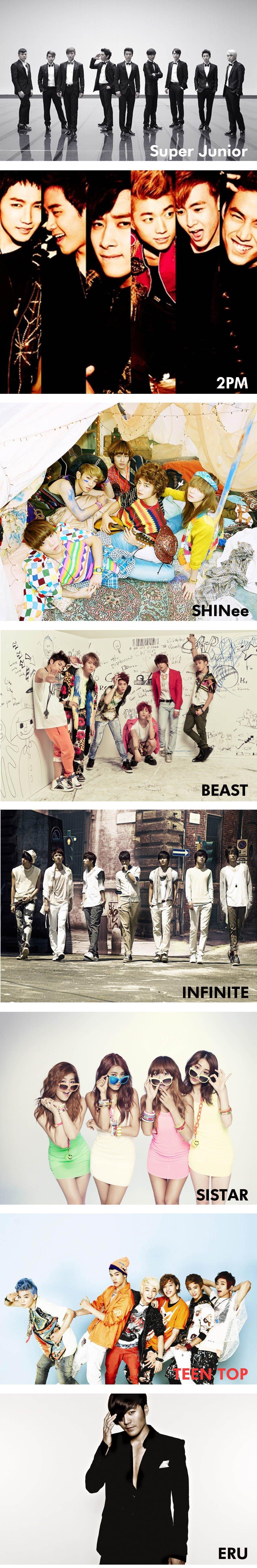 KBS MusicBank World Tour - Super Junior - SHINee - 2PM - Beast - Infinite - Sistar - Teen Top - Eru