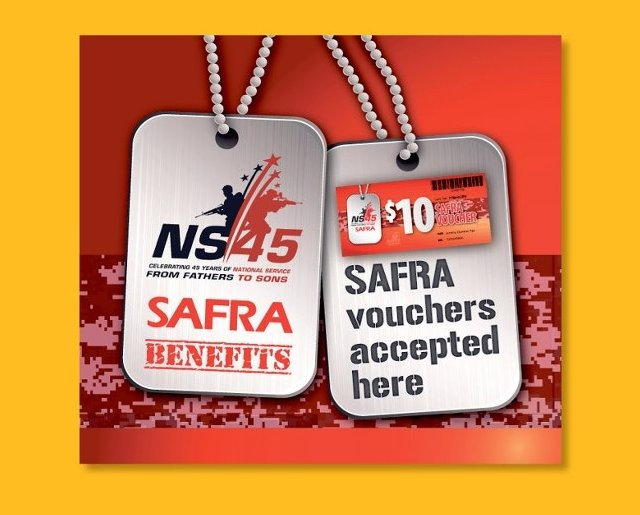 NS45 Vouchers Accepted Here