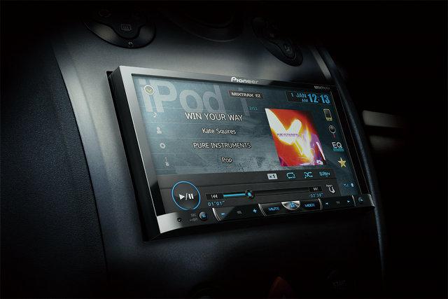 PIONEER AVH-X8550BT in car