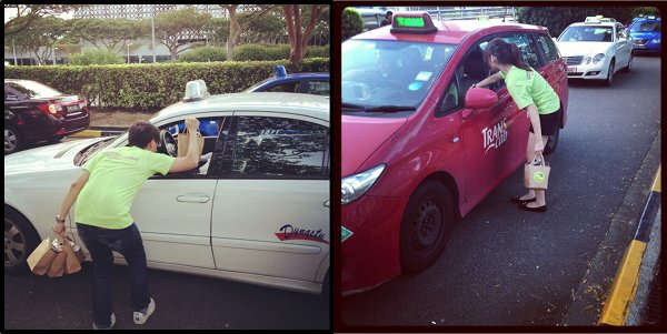 Happy Everywhere - Happy Bus - Changi Airport Cabbies