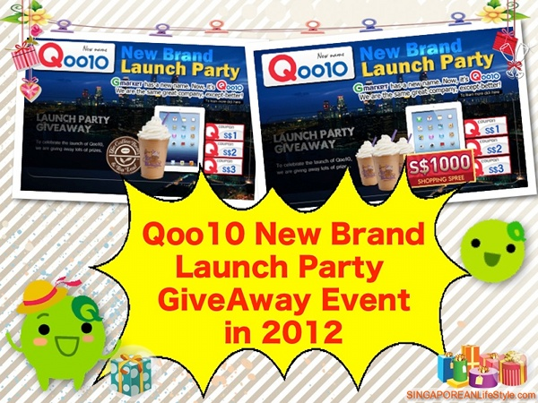 Qoo10 New Brand Launch Party in 2012