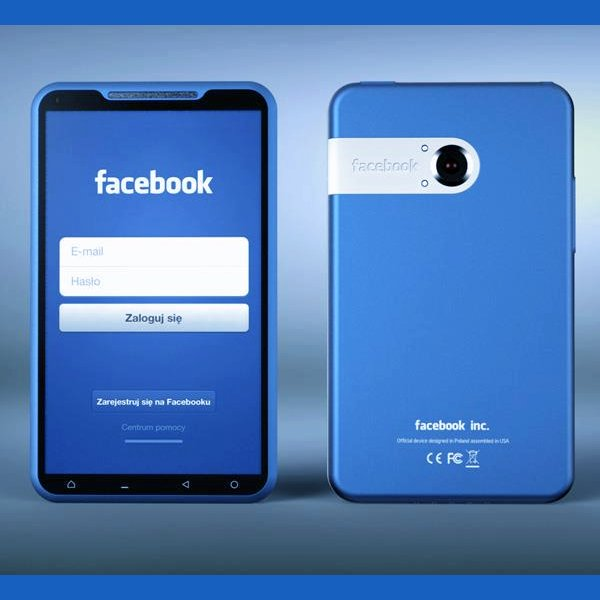 FaceBook Phone Mock Up