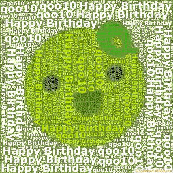 Happy Birthday Qoo10 from Singaporean LifeStyle
