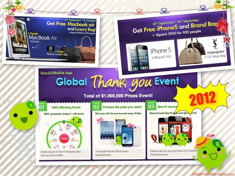 Qoo10 Global Thank You Event 2012
