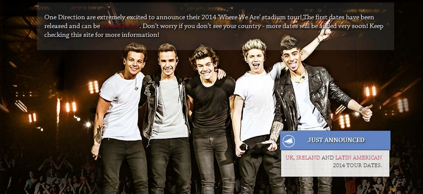 One Direction Big Announcement