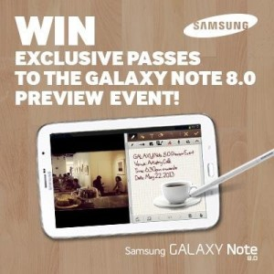 Samsung GALAXY Note 8 Preview Event in Singapore